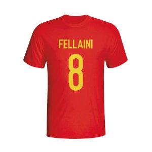 Marouane Fellaini Belgium Hero T-shirt (red)