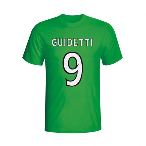 John Guidetti Celtic Hero T-shirt (green) - Kids