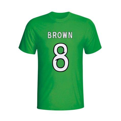 Scott Brown Celtic Hero T-shirt (green) - Kids