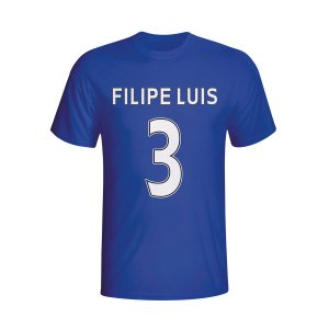 Filipe Luis Chelsea Hero T-shirt (blue) - Kids