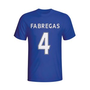 Cesc Fabregas Chelsea Hero T-shirt (blue) - Kids