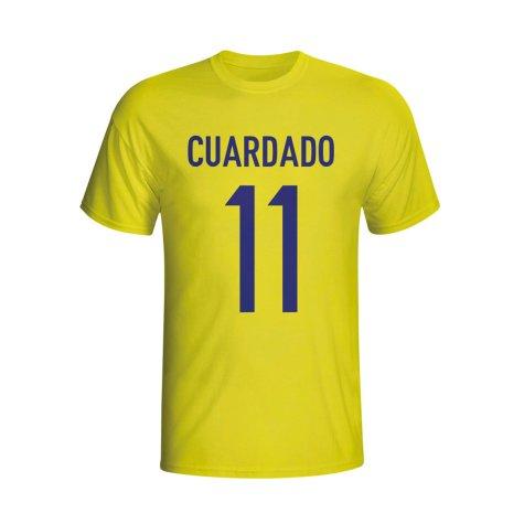 Juan Cuardado Colombia Hero T-shirt (yellow)