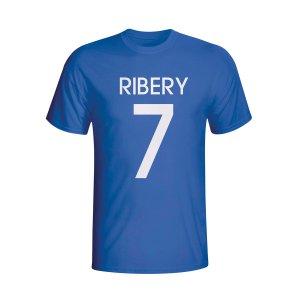 Franck Ribery France Hero T-shirt (blue) - Kids