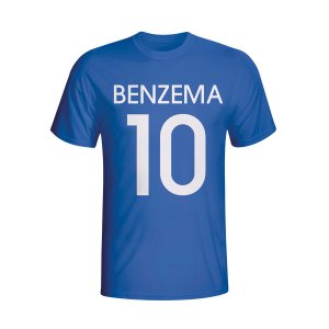 Karim Benzema France Hero T-shirt (blue) - Kids