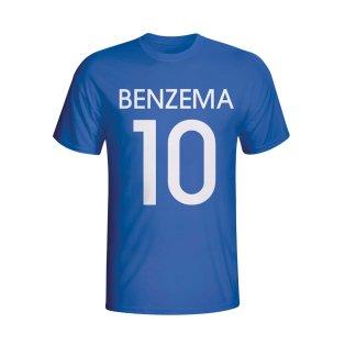 Karim Benzema France Hero T-shirt (blue) - Kids