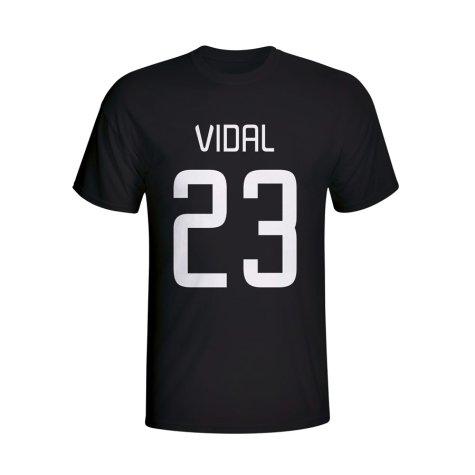 Arturo Vidal Juventus Hero T-shirt (black) - Kids