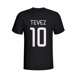 Carlos Tevez Juventus Hero T-shirt (black) - Kids