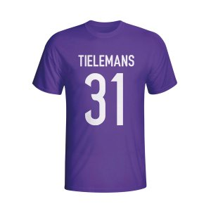 Youri Tielemans Anderlecht Hero T-shirt (purple) - Kids
