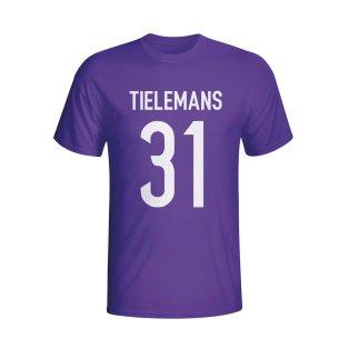 Youri Tielemans Anderlecht Hero T-shirt (purple) - Kids