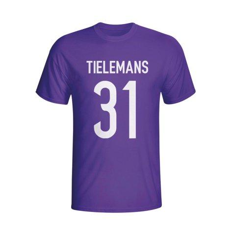 Youri Tielemans Anderlecht Hero T-shirt (purple)