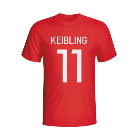 Stefan Keissling Bayer Leverkusen Hero T-shirt (red) - Kids