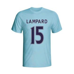 Frank Lampard Man City Hero T-shirt (sky)