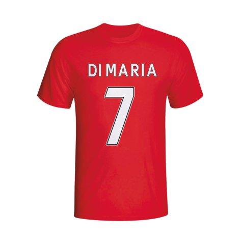 Angel Di Maria Man Utd Hero T-shirt (red) - Kids