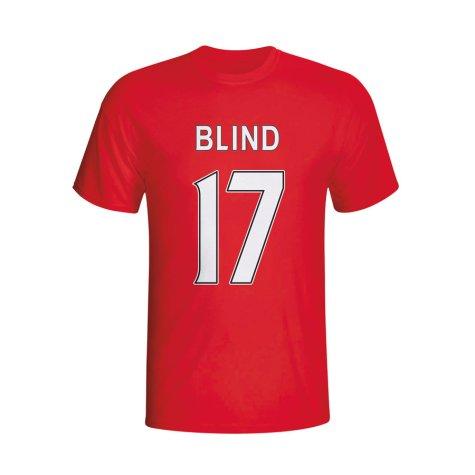 Daley Blind Man Utd Hero T-shirt (red) - Kids