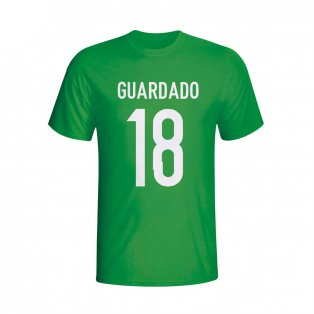 Andres Guardado Mexico Hero T-shirt (green) - Kids