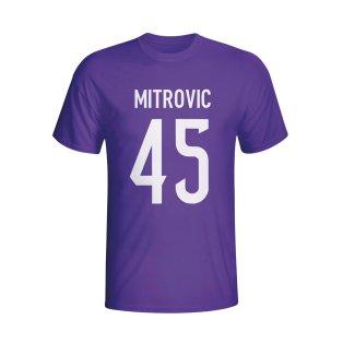 Aleksandar Mitrovic Anderlecht Hero T-shirt (purple) - Kids