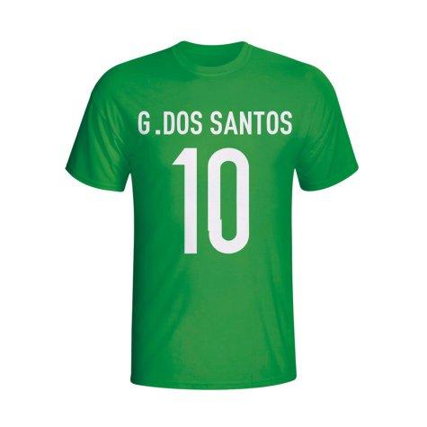 Giovanni Dos Santos Mexico Hero T-shirt (green)