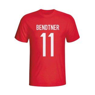Nicolas Bendtner Denmark Hero T-shirt (red) - Kids