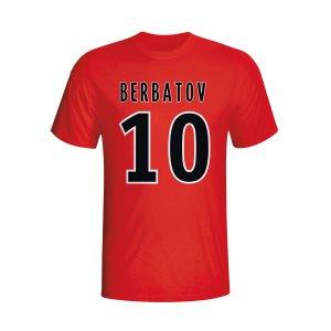 Dimitar Berbatov Monaco Hero T-shirt (red)
