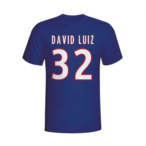 David Luiz Psg Hero T-shirt (navy)