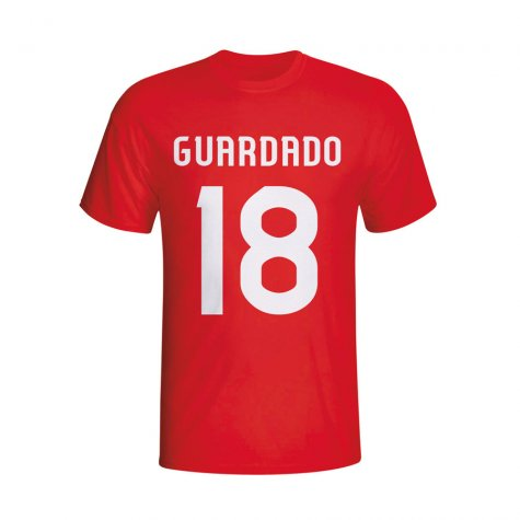 Andres Guardado Psv Hero T-shirt (red)
