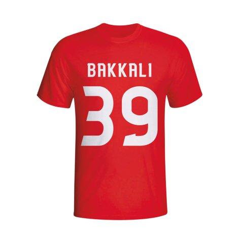 Zakaria Bakkali Psv Hero T-shirt (red)