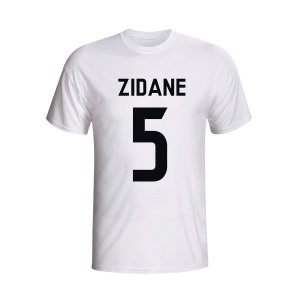 Zinedine Zidane Real Madrid Hero T-shirt (white) - Kids