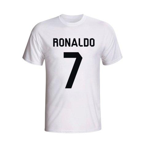 Cristiano Ronaldo Real Madrid Hero T-shirt (white) - Kids