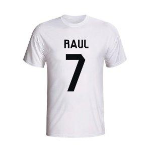 Raul Real Madrid Hero T-shirt (white)