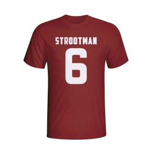 Kevin Strootman Roma Hero T-shirt (maroon) - Kids