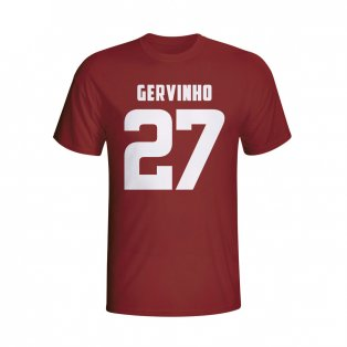 Gervinho Roma Hero T-shirt (maroon) - Kids