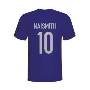 Steven Naismith Scotland Hero T-shirt (navy)