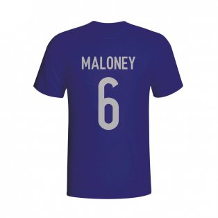 Sean Maloney Scotland Hero T-shirt (navy) - Kids