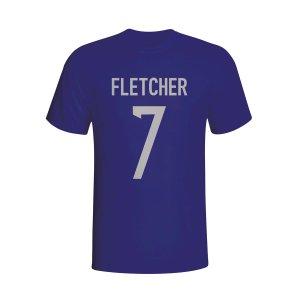 Darren Fletcher Scotland Hero T-shirt (navy) - Kids