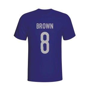Scott Brown Scotland Hero T-shirt (navy)
