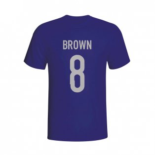 Scott Brown Scotland Hero T-shirt (navy)