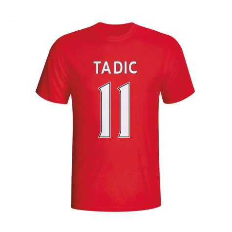 Dusan Tadic Southampton Hero T-shirt (red) - Kids