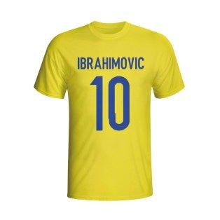 Zlatan Ibrahomovic Sweden Hero T-shirt (yellow)