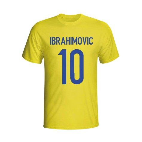 Zlatan Ibrahomovic Sweden Hero T-shirt (yellow) - Kids