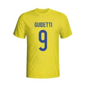 John Guidetti Sweden Hero T-shirt (yellow) - Kids