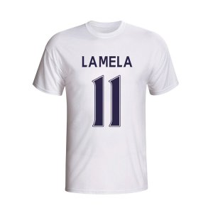 Erik Lamela Tottenham Hero T-shirt (white)