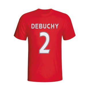 Mathieu Debuchy Arsenal Hero T-shirt (red) - Kids