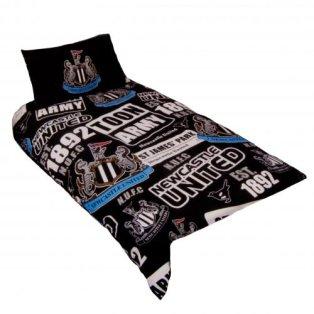 Newcastle United FC Single Duvet Set PT
