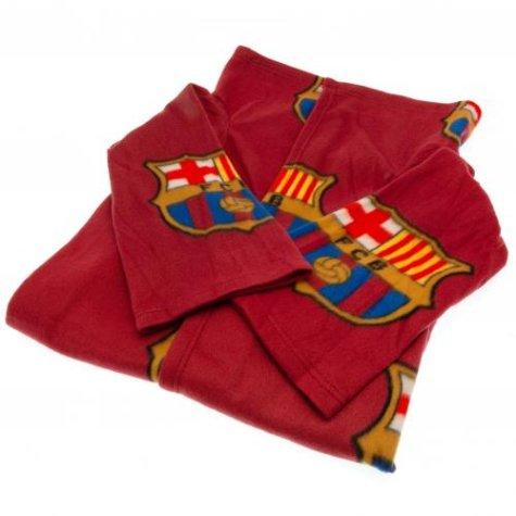 FC Barcelona Snuggle Fleece Blanket