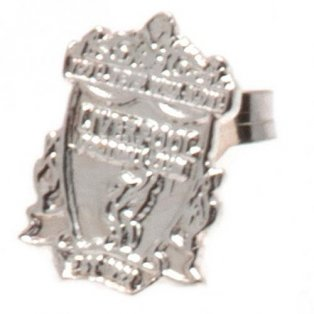 Liverpool F.C. Sterling Silver Stud Earring
