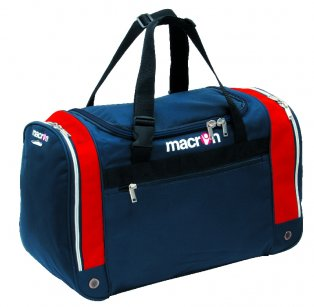 Macron Trio Players Bag (navy-red) - Medium