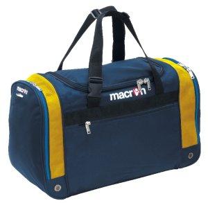 Macron Trio Players Bag (navy-yellow) - Large