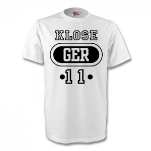 Miroslav Klose Germany Ger T-shirt (white)