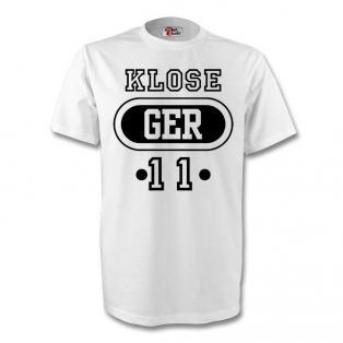 Miroslav Klose Germany Ger T-shirt (white) - Kids