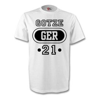 Mario Gotze Germany Ger T-shirt (white) - Kids